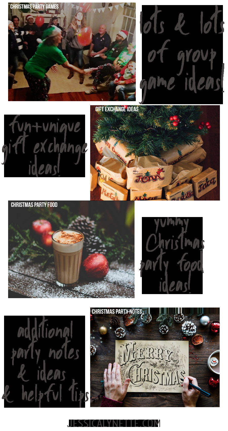 Christmas Party Menu Ideas For Large Groups  Christmas Party Ideas and Games