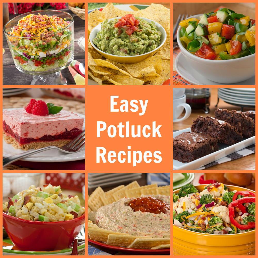 Christmas Party Menu Ideas For Large Groups  Easy Potluck Recipes 58 Potluck Ideas