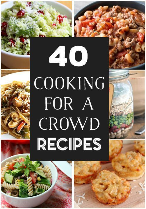 Christmas Party Menu Ideas For Large Groups  40 Cooking For a Crowd Recipes