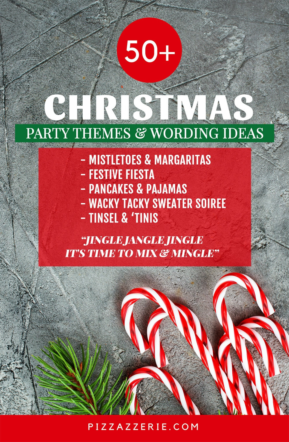 Christmas Party Name Ideas  50 CHRISTMAS PARTY THEMES & CLEVER INVITATION WORDING