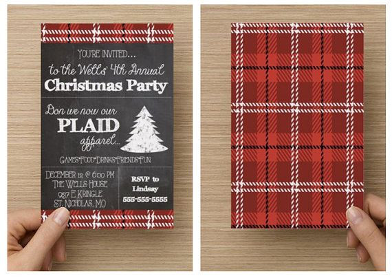 Christmas Party Name Ideas  1000 ideas about Christmas Party Invitations on Pinterest