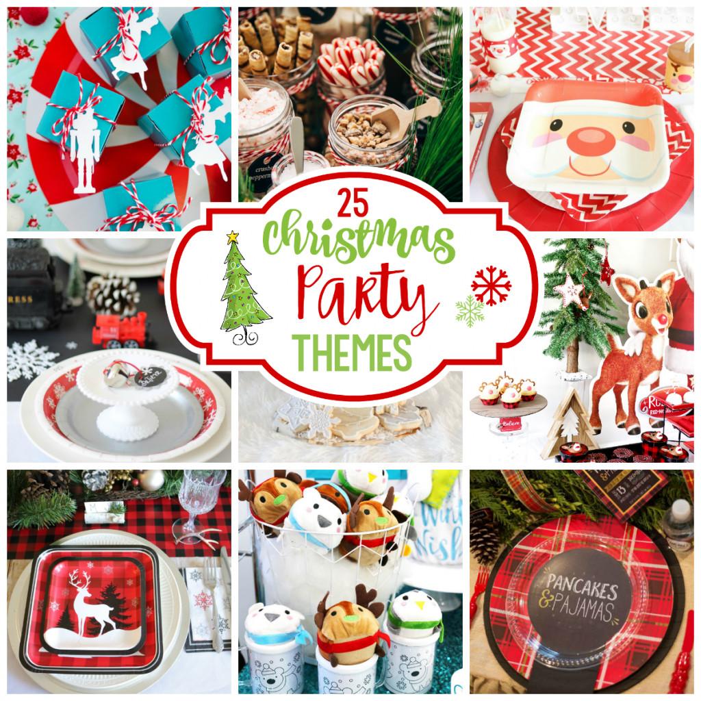 Christmas Party Name Ideas  25 Fun Christmas Party Theme Ideas – Fun Squared