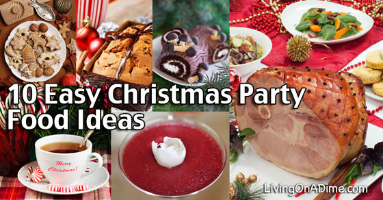 Christmas Party Recipes Ideas  10 Easy Christmas Party Food Ideas And Easy Recipes
