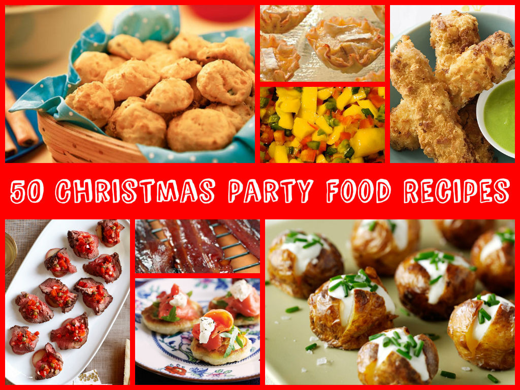 Christmas Party Recipes Ideas  50 Christmas Party Food Recipes