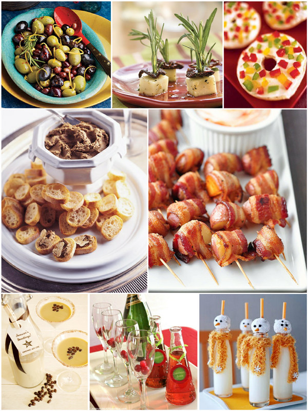 Christmas Party Recipes Ideas  Christmas Party Easy Appetizers and Holiday Cocktails