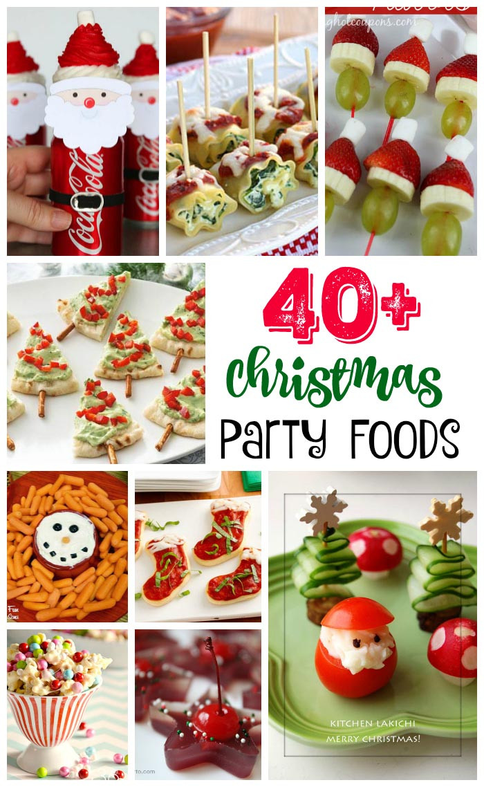Christmas Party Recipes Ideas  40 Easy Christmas Party Food Ideas and Recipes All