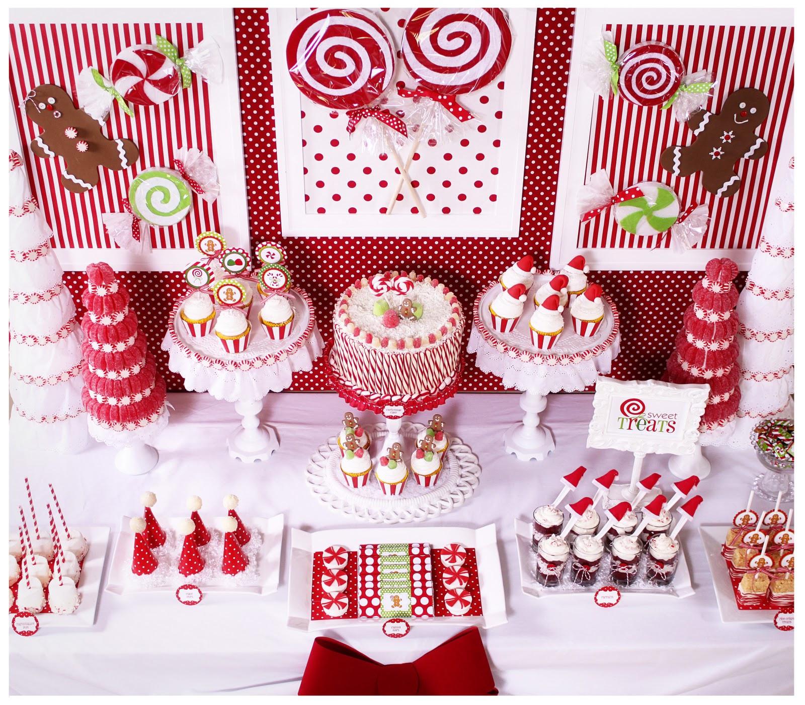 Christmas Party Theme Ideas For Adults  Kara s Party Ideas Candy Land Christmas Party