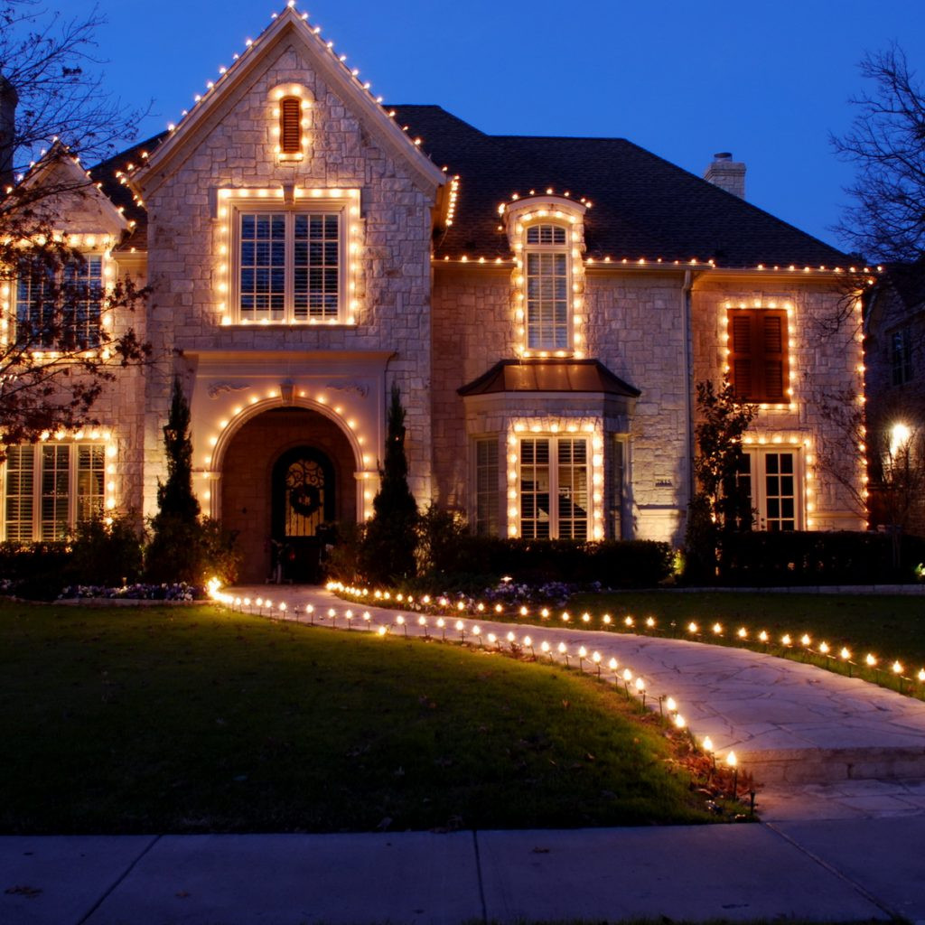 Christmas Porch Lights  Magical Outdoor Christmas Lighting Ideas That Will Take