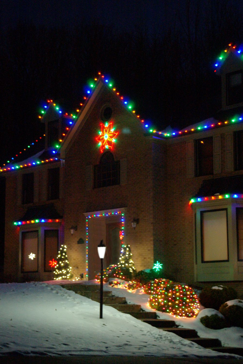 Christmas Porch Lights  Outdoor Lighting Perspectives