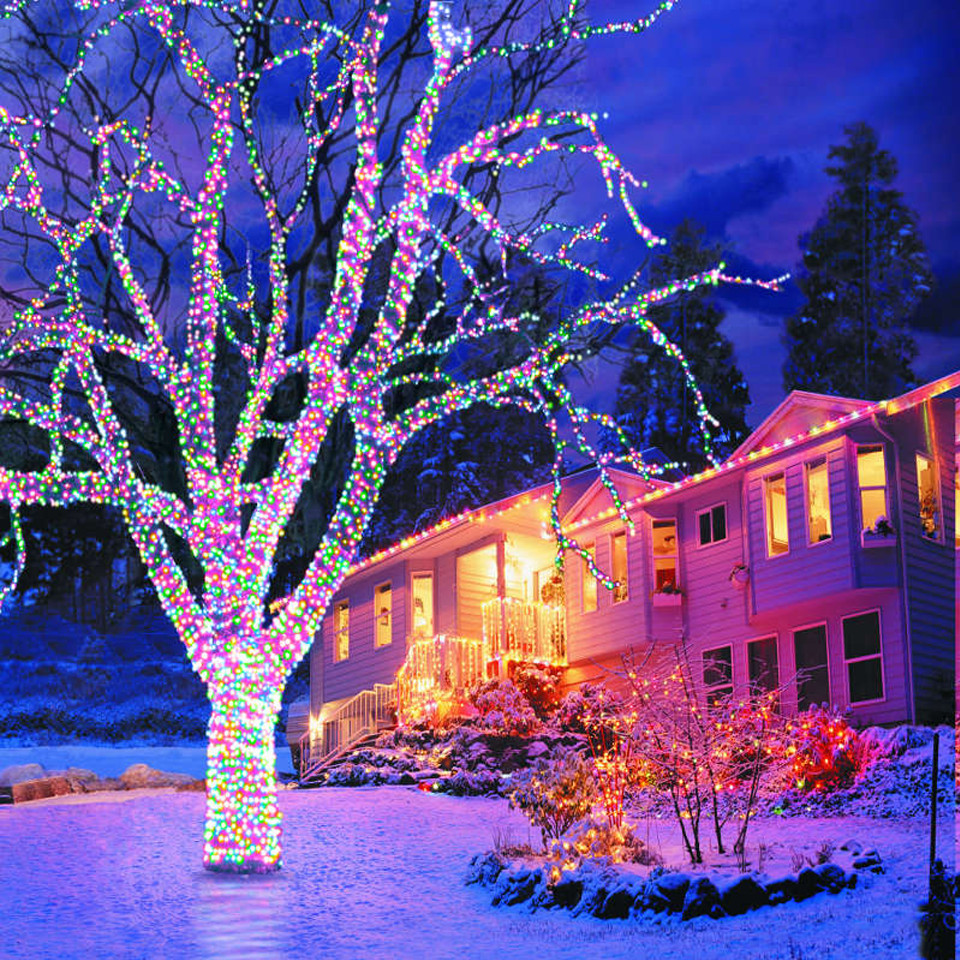 Christmas Porch Lights  Download HD Christmas & New Year 2018 Bible Verse