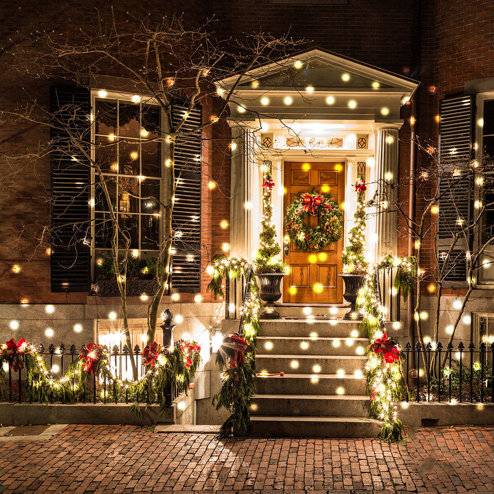 Christmas Porch Lights  Best outdoor Christmas lights to give exteriors festive