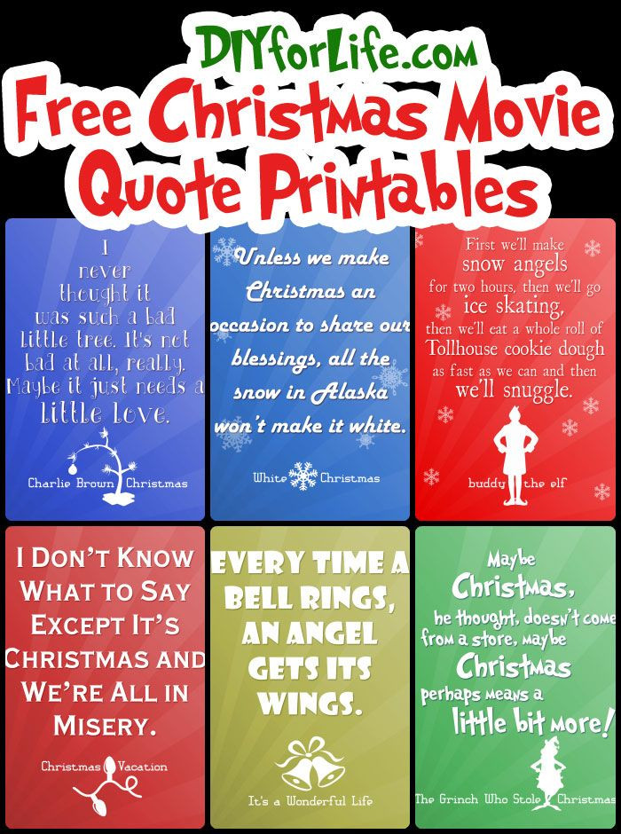 Christmas Quotes And Sayings  Best 25 Christmas movie quotes ideas on Pinterest