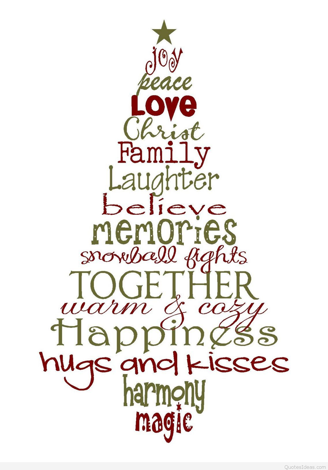 Christmas Quotes And Sayings  Family Christmas quotes