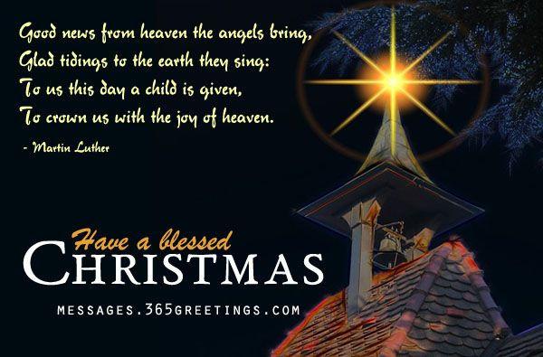 Christmas Quotes Christian  Christian Christmas Wishes and Christian Christmas Wording