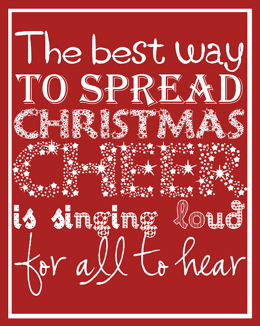 Christmas Quotes From Songs  Christmas Printables