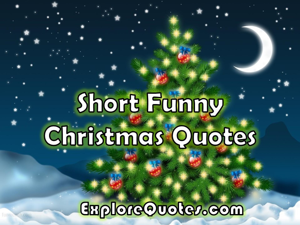 Christmas Quotes Short  Short Funny Christmas Quotes For