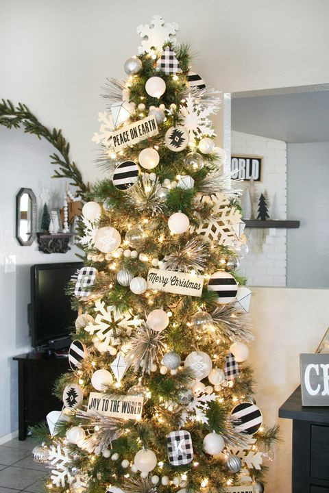 Christmas Rooftop Decorating Ideas  76 Best Christmas Tree Decorating Ideas How to Decorate