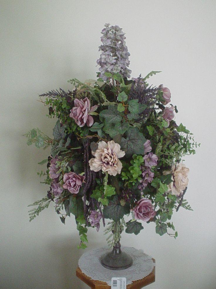 Christmas Silk Flower Arrangements  95 best images about Christmas silk flower arrangements on