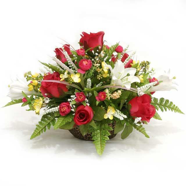 Christmas Silk Flower Arrangements  Simply Flowers