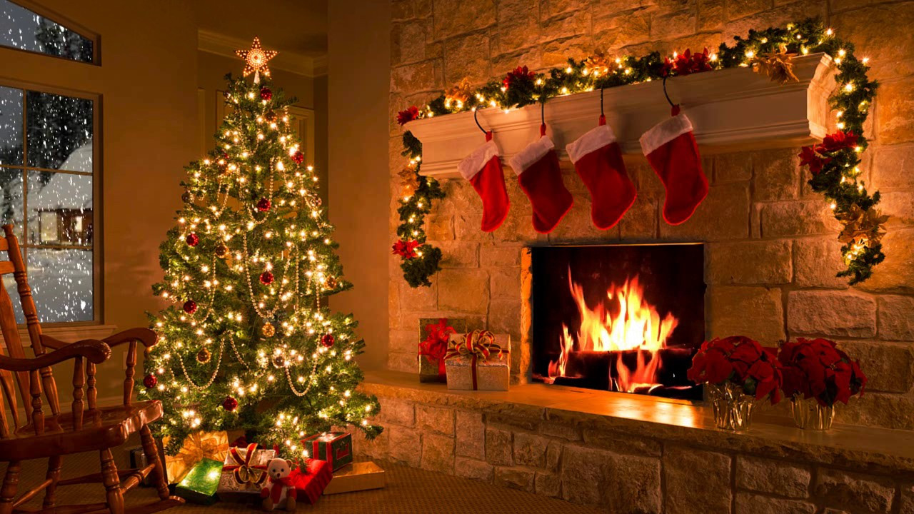 Christmas Sock Fireplace  Traditions Make Void the Word of God ⋆ The Firmament Blog