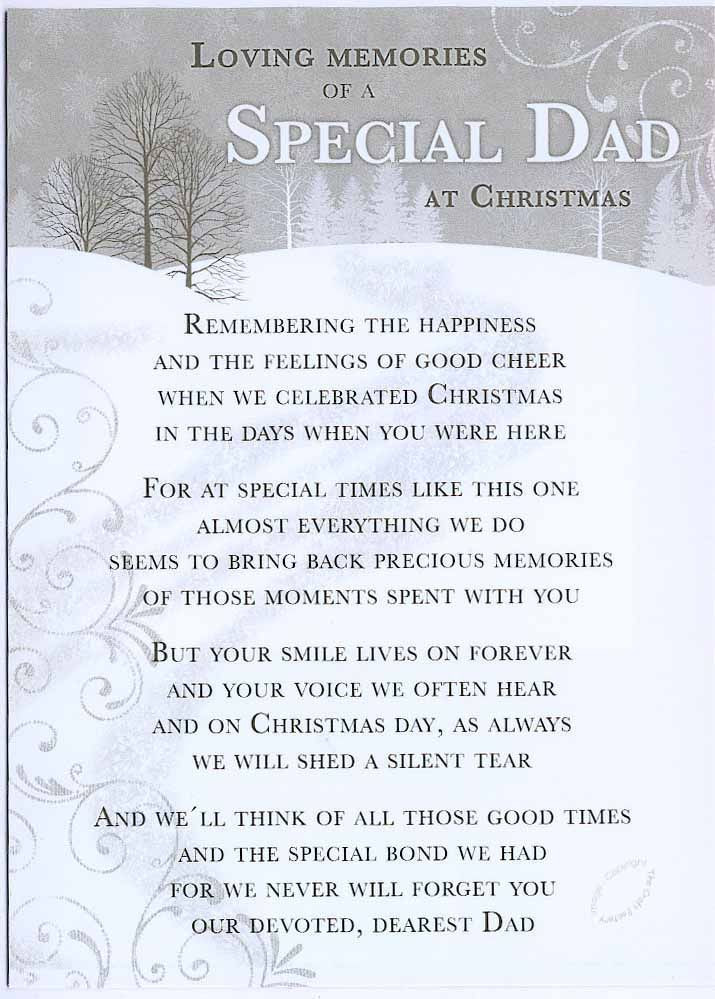 Christmas Story Dad Swearing Quotes  Christmas Grave Card Special Dad FREE Holder C110