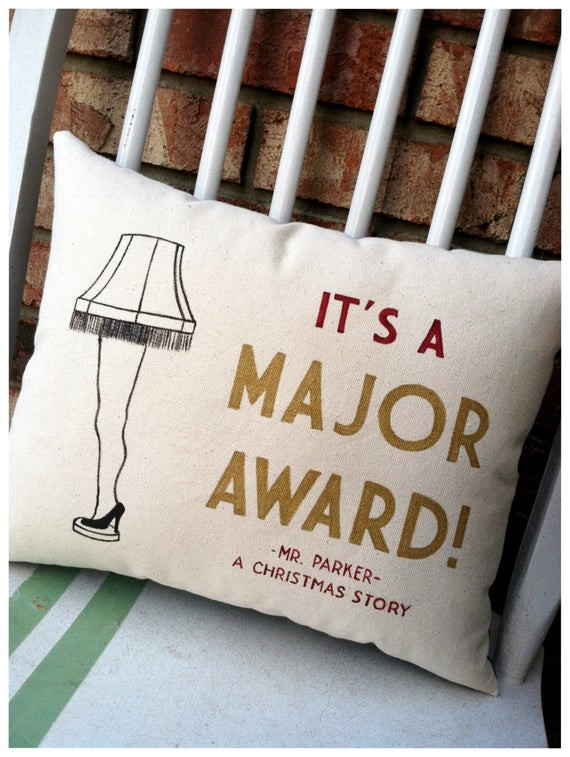 Christmas Story Dad Swearing Quotes  A Christmas Story Leg Lamp It s a Major Award Holiday