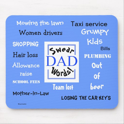 Christmas Story Dad Swearing Quotes  Dad Swear Words Rudest Dad Sayings Mousemat