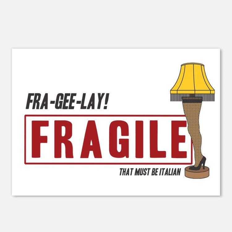 Christmas Story Fragile Quote  A Christmas Story Postcards