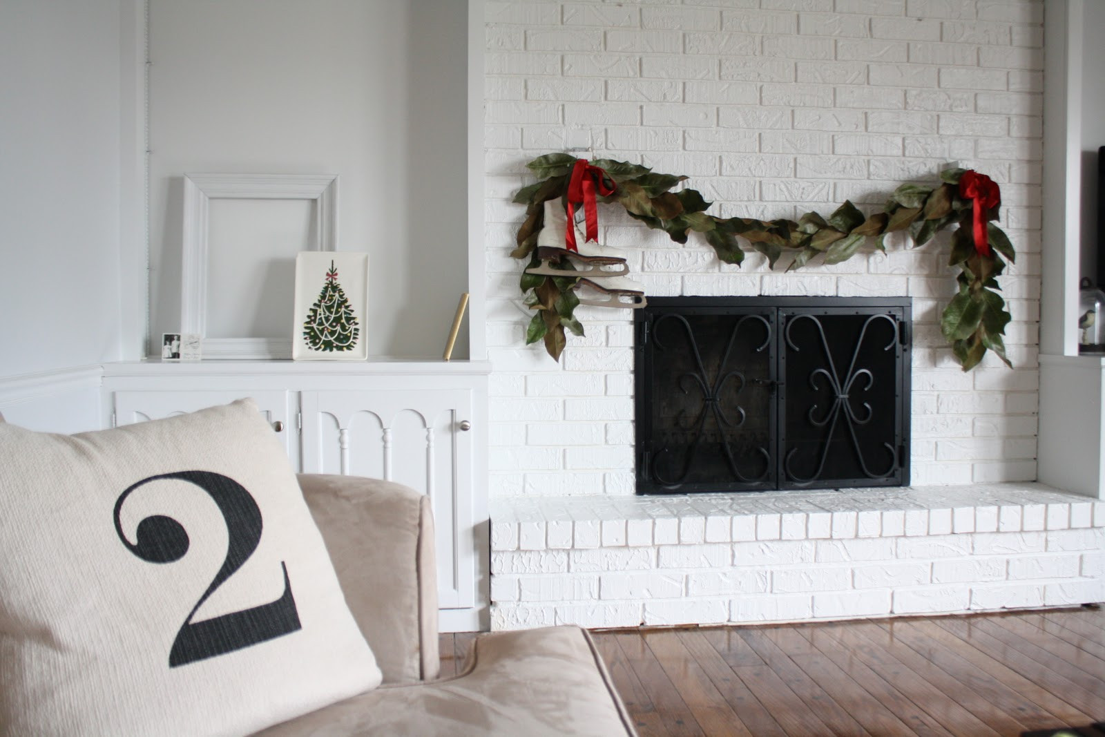 Christmas Swags For Fireplace  Christmas Decor Julie Blanner
