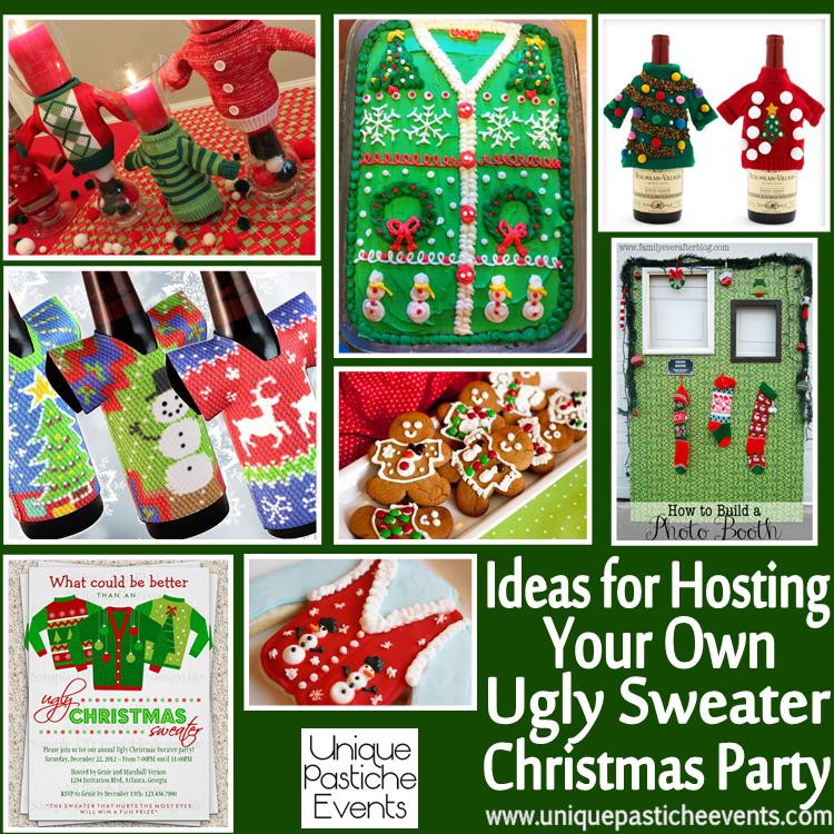 Christmas Sweater Party Ideas  Winter Inspiration