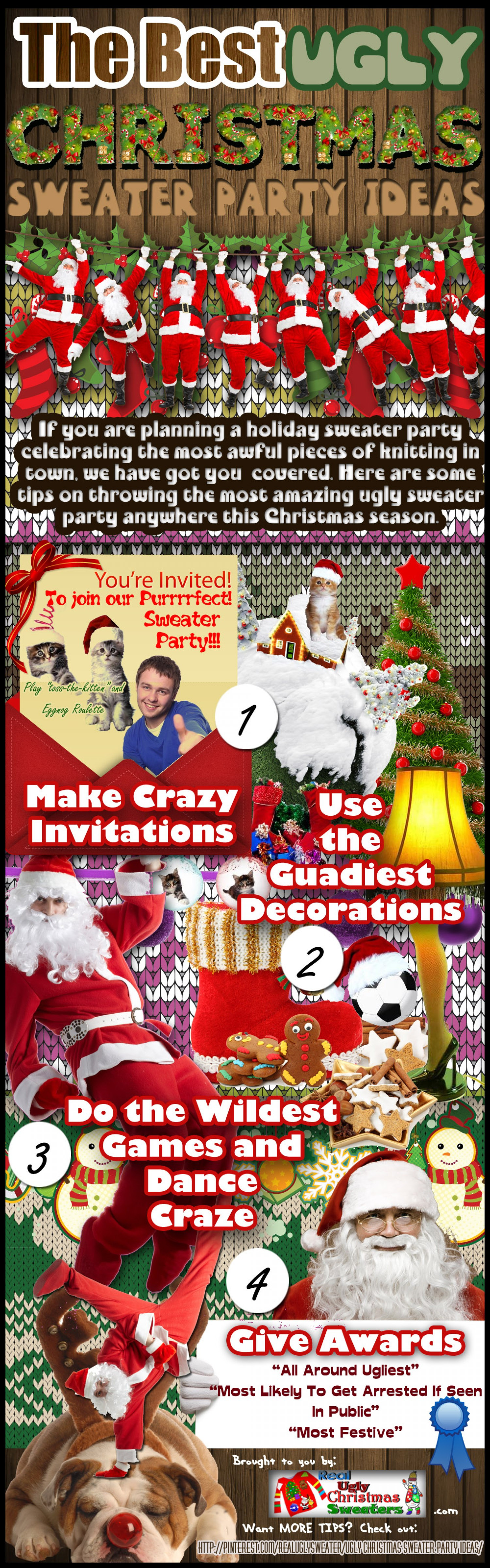 Christmas Sweater Party Ideas  The Best Ugly Christmas Sweater Party Ideas