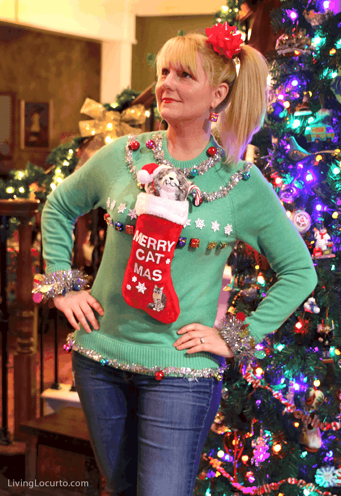 Christmas Sweater Party Ideas  Reindeer Ugly Christmas Sweater Cake