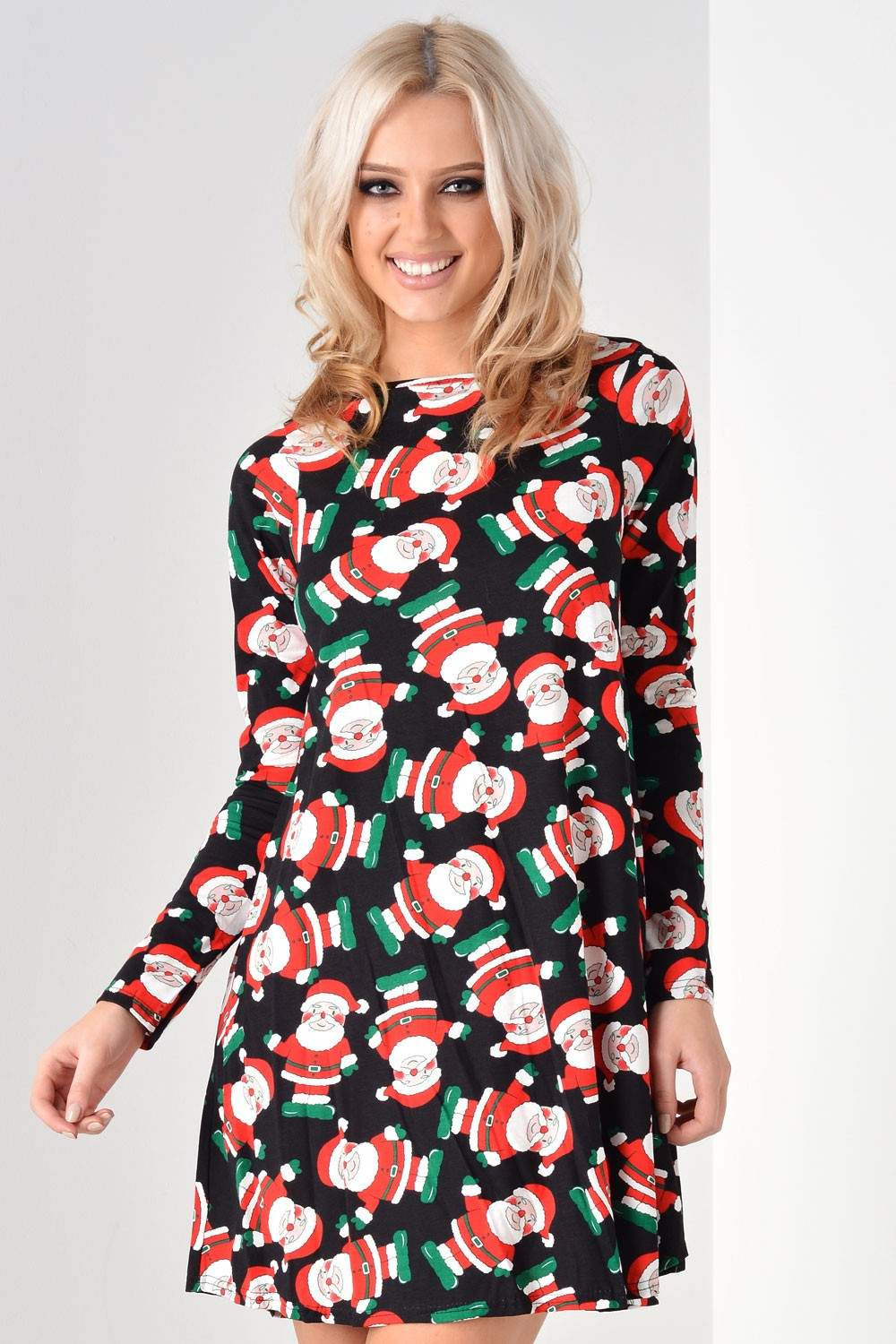 Christmas Swing Dress  Signature Kate Christmas Swing Dress