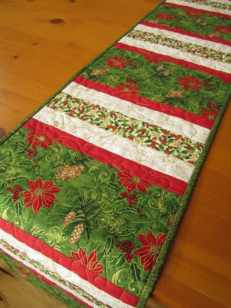 Christmas Table Runner  1046 best Christmas Runners images on Pinterest