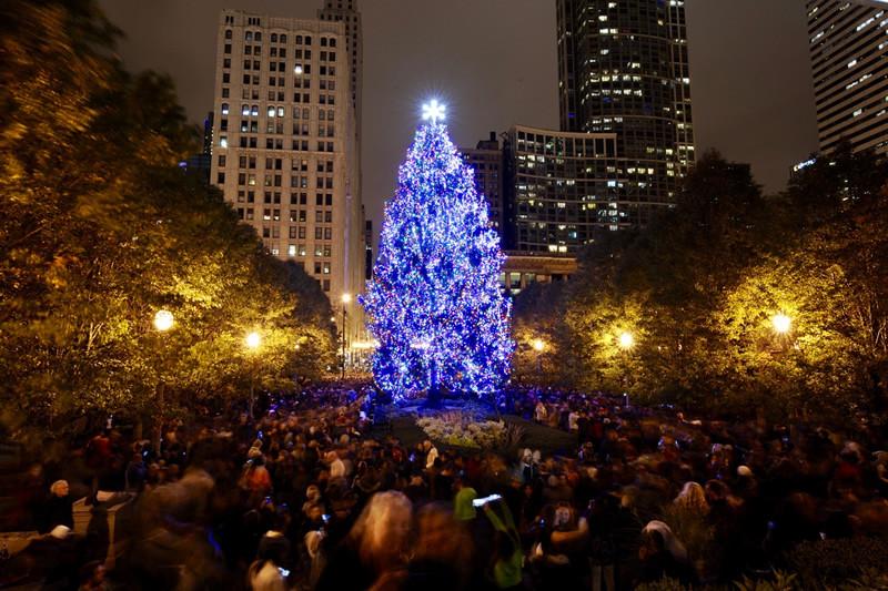 Christmas Tree Lighting 2019  City of Chicago City of Chicago Christmas Tree