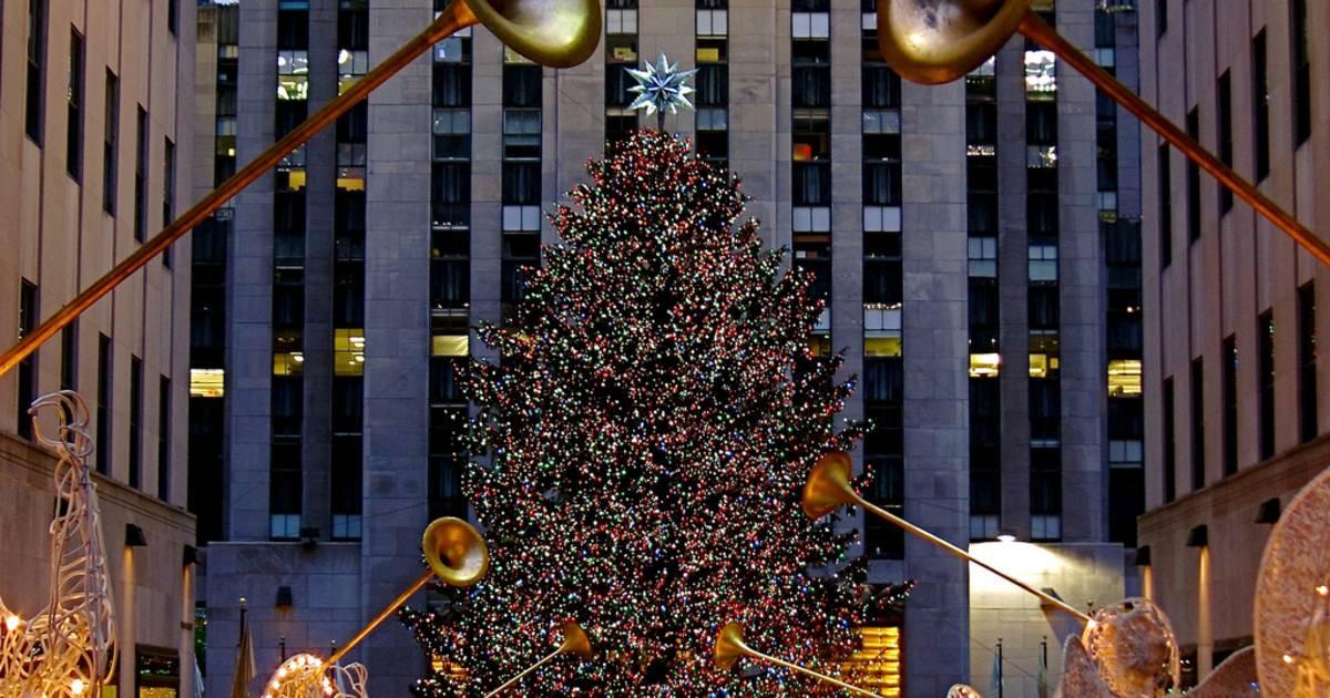 Christmas Tree Lighting 2019  Rockefeller Center Christmas Tree 2018 in New York Dates