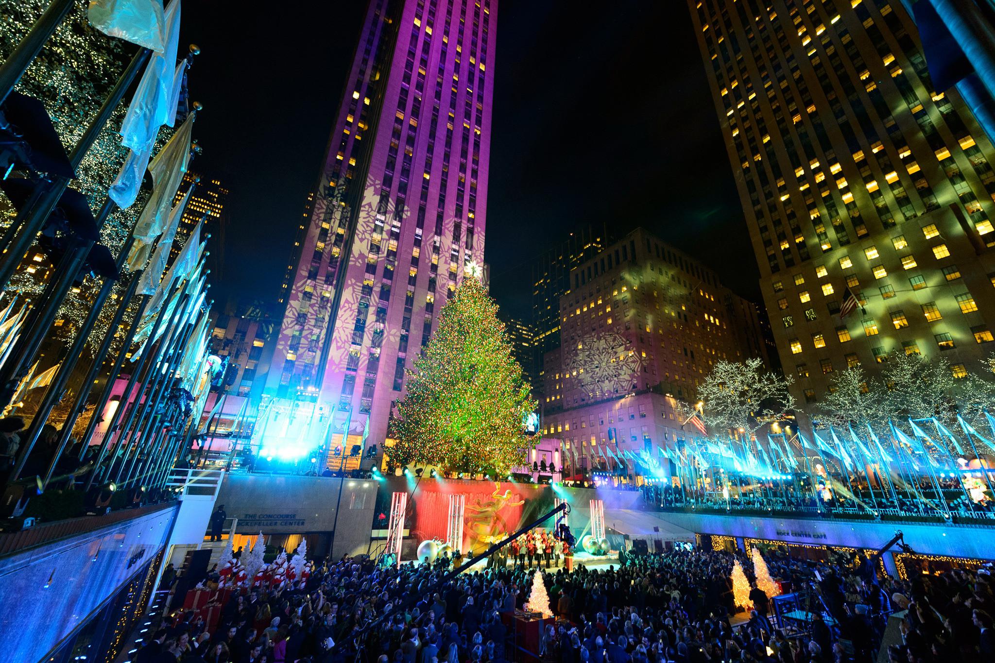 Christmas Tree Lighting 2019  Rockefeller Center Christmas Tree In NYC 2019 Guide