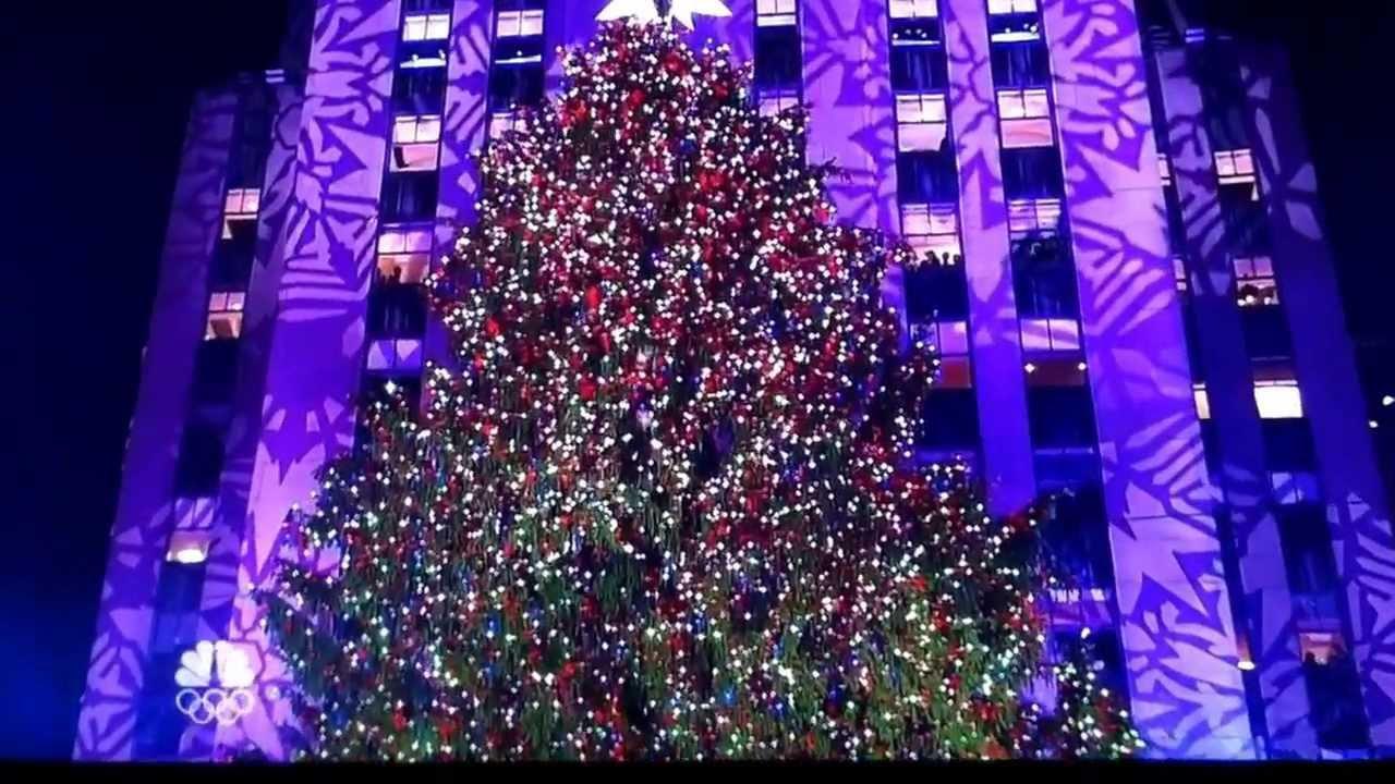 Christmas Tree Lighting 2019  Rockefeller Center Christmas Tree Lighting 2013