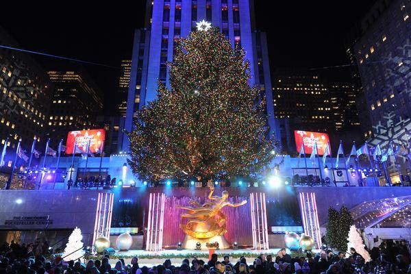Christmas Tree Lighting 2019  New York City Holiday Events Christmas in NYC
