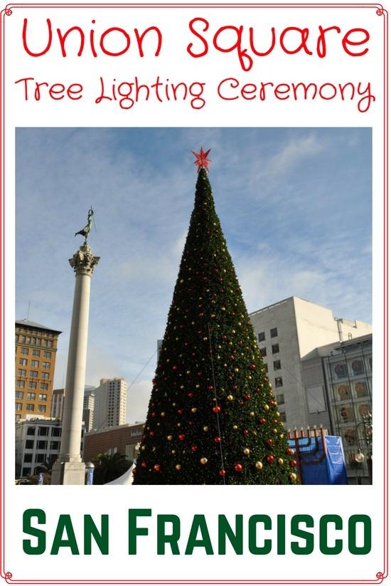 Christmas Tree Lighting 2019  Union Square Christmas Tree Lighting 2019 Event Details