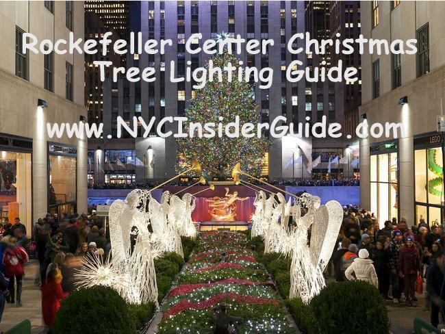 Christmas Tree Lighting 2019  Rockefeller Center Christmas Tree Lighting 2019