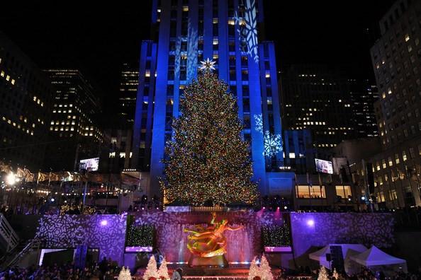 Christmas Tree Lighting 2019  Rockefeller Center Tree Lighting 2019 Tuesday December 3