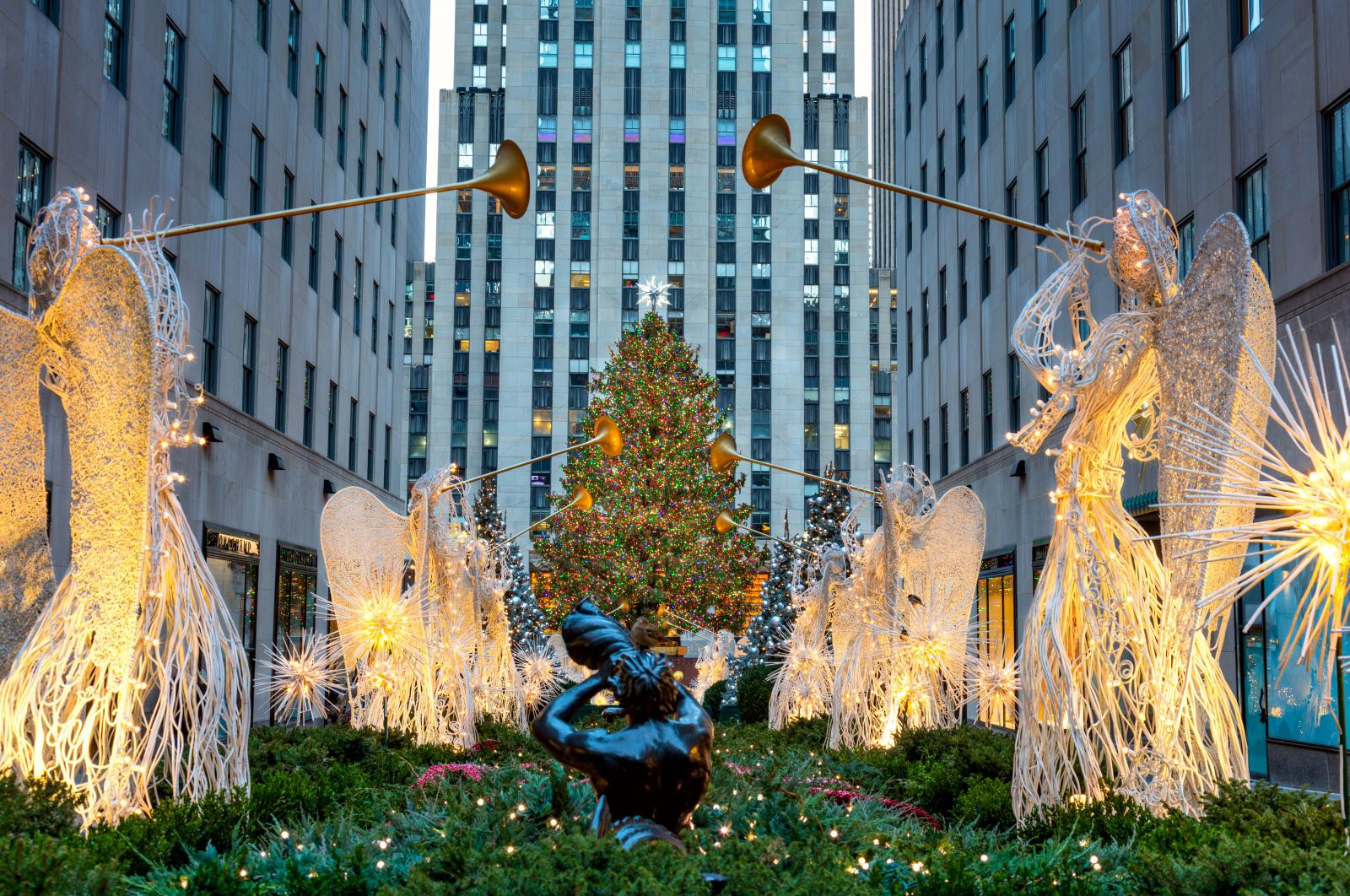Christmas Tree Lighting 2019  The Rockefeller Christmas Tree 2019