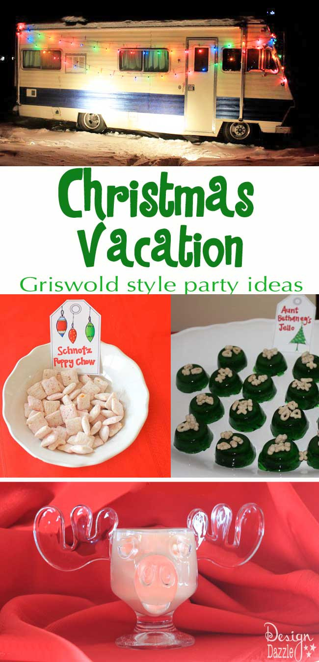 Christmas Vacation Party Ideas  Christmas Vacation Party Griswold Style Design Dazzle