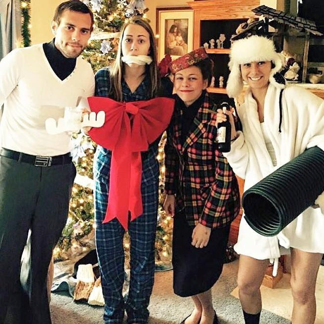 Christmas Vacation Party Ideas  Nailed the Christmas Vacation costumes Classy Eddy the