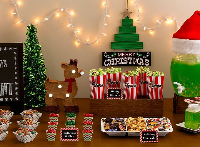 Christmas Vacation Party Ideas  Holiday Movie Night Party Party City