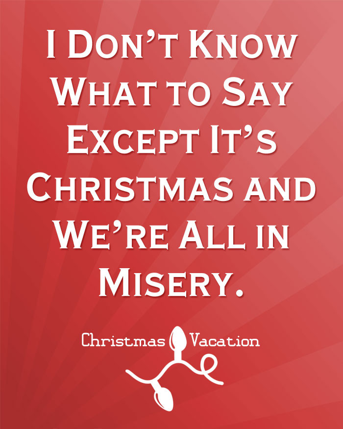 Christmas Vacation Quotes  Free Christmas Printables with Favorite Movie Quotes DIY