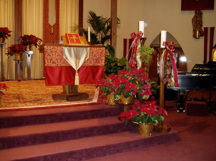 Church Christmas Party Ideas  17 Best images about Decorating church for christmas on