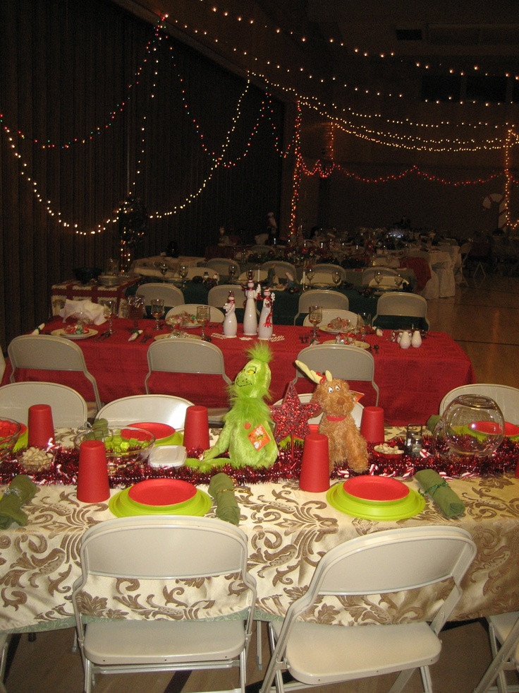 Church Christmas Party Ideas  1000 images about Relief Society Christmas Dinner Ideas