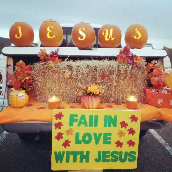 Church Halloween Party Ideas  Trunk or treat Holiday Ideas Pinterest